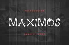 Web Font Maximos Font Product Image 1