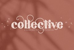 Collective - A Hand-Drawn Serif Font Product Image 1