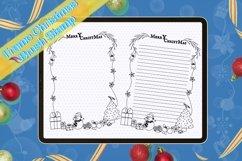 Procreate brush stamp Guide frame Christmas,Frame Christmas Product Image 4
