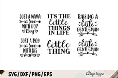 Mommy And Me SVG Bundle of 34 Designs - DXF PNG Cut Files Product Image 3