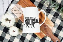 Farmhouse Milk Jug Flatlay Craft Mockups JPEG Styled Photo Product Image 3