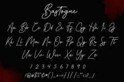 Bastogne Signature Font Product Image 2