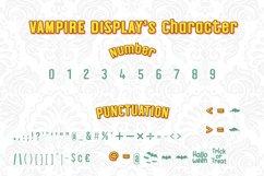 Halloween Vampire Display font Product Image 3