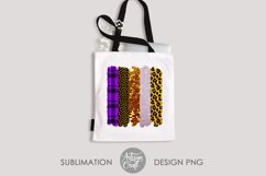 Brush stroke PNG, Halloween sublimation, Leopard Print Product Image 2