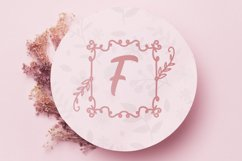 Square Lily Monogram Product Image 3