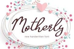 Web Font Motherly Product Image 1