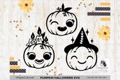 Jack o Lantern Pumpkin SVG Bundle Pumpkin face SVG Halloween Product Image 1