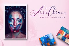 Arellia Script // Luxury Font Product Image 3