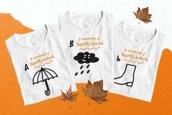 Web Font Thanksgiving Party Dingbat Font Product Image 4