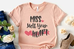 Valentine's Day - Miss Melt Your Heart SVG Cut Files Product Image 3