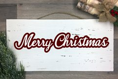 3 Merry Christmas Print & Cut Files Product Image 4