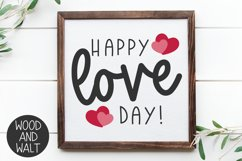 Happy Love Day SVG   Valentine's Day Cut File Product Image 4