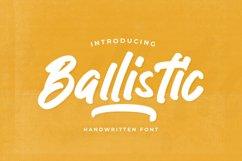 Ballistic - Handwritten Brush Product Image 1