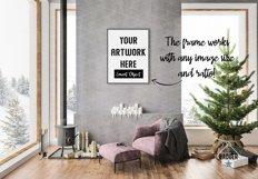 Christmas Interior Bundle - Frame & Canvas Mockup Creator Product Image 3