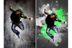 Poster Maker photoshop action Product Image 9