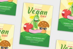 World Vegan Day vol.01 - Flyer, Poster & Instagram TY Product Image 4