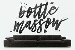 Bottle Massow Brush Script Product Image 1