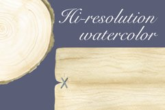Watercolor Wooden Signs Product Image 2