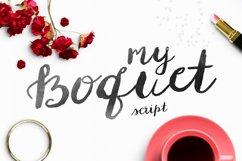 My Boquet Script Product Image 1