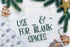YULE - Christmas Lights Font  Product Image 4