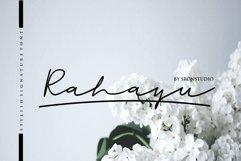 Rahayu -  A stylish signature font Product Image 1