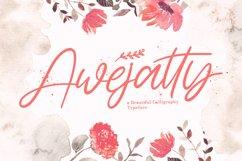 Awejatty - Handwritten Font Product Image 1