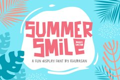 Summer Smile Font Product Image 1