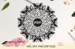 Mom mandala, SVG, mother's day mandala Product Image 1