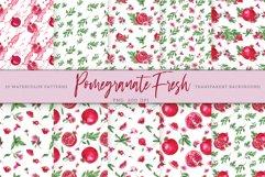 Pomegranate Fresh. Patterns Set Product Image 1