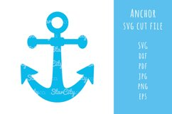 Anchor SVG Cut file, Cutting file, SVG cut file Product Image 1