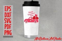 Valentines Day Truck Svg Valentines SVG Love Svg Valentine Product Image 2