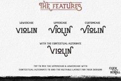 Violina typeface Product Image 2