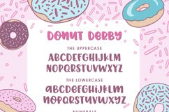 Donut Derby, a tasty caps font, Best Seller Product Image 2