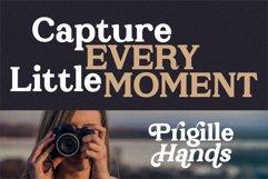 Prigille Hands - Bold Serif Font Product Image 5