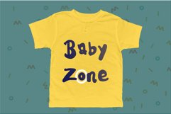 Kids Note - A Cute Display Font Product Image 3