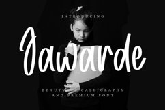 Jawarde - A Modern And Smart Font Product Image 1