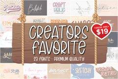 The Creator's Favorite Font Bundle Product Image 2