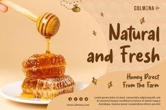 Honey Jar - Fancy Honey Farm Font Product Image 4