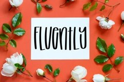 Fluently - A Tall cut-friendly Font Product Image 1