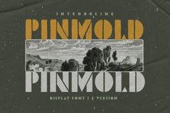 Pinmold - Modern Stencil Font Product Image 1