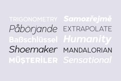 Radian | A Geometric Sans Serif Typeface Product Image 3