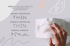 Aronia - Thin Line Logo Font Product Image 2