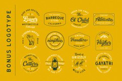 Greatly Font Duo & Logo Templates Product Image 3