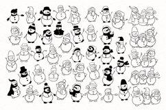 Snowman SVG Product Image 5