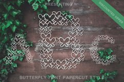 Butterfly Font - Alphabets Butterfly Shapes for Crafters Product Image 1