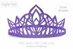Princess crown svg Birthday party crown Princess tiara Product Image 5