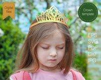 Princess crown svg Birthday party crown Princess tiara Product Image 3
