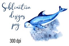 Residents of deep water Sea Sublimation Png Product Image 1