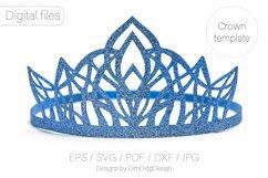 Princess crown svg Birthday party crown Princess tiara Product Image 6