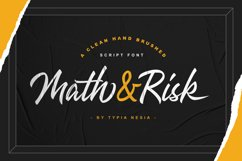 Math and Risk Product Image 1